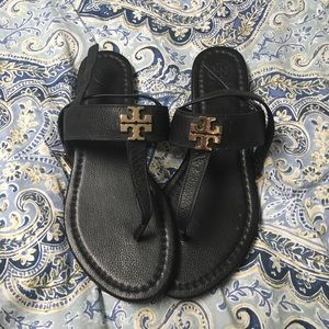 Tory Burch black sandal